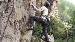 Rosmarie, RHM internationales Frauen Klettertreffen Rendez vous Hautes Montagnes