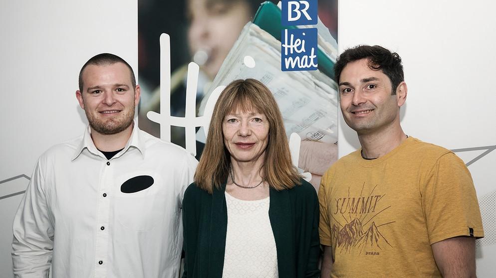 Tommy Sieber, Margarita Wolf und Josef Weber | Bild: BR/Markus Konvalin